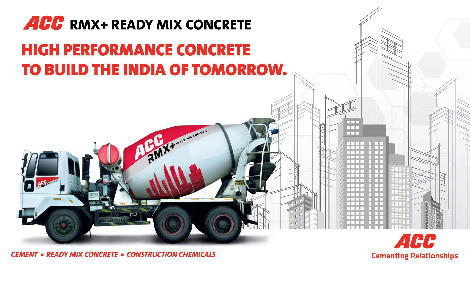 Ready Mixed Concrete by ACC Limited | Cement Manufacturer